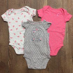 3Mo Baby Girl Onesie Bundle